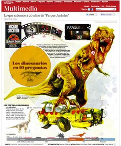 interactivo a 20 años de Jurassic Park... http://www.latercera.com/multimedia/interactivo/2013/05/687-45522-4-lo-que-sabemos-a-20-anos-de-parque-jurasico.shtml