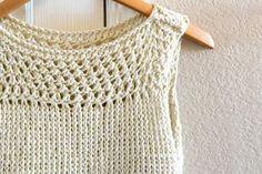 Rahat, pratik ve kolay. Yaz giyimi için mükemmel bir örnek. Bambu iplik kullandık. Yumuşak ve hafif bir iplik. Farklı modeller arayanlar sitemizi ziyaret e