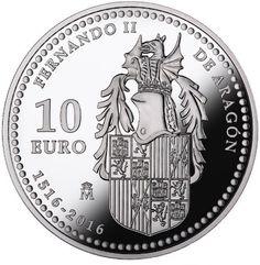 España 10€ y 100€ 2016 – Centenario Fernando II de Aragón