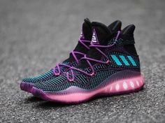 best service e0d05 2177e adidas Crazy Explosive Swaggy P PE Black Pink BB8338 - SBD Latest Shoe  Trends, Tenis