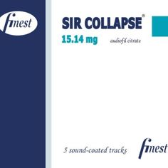 Rock-Klänge der härteren Sorte angesiedelt im Alternative Rock mit Einflüssen aus Stoner und Grunge das bieten uns Sir Collapse auf ihrer neuen EP 15.14 mg Audiofil Citrate. Was aussieht wie eine Medikamentenverpackung gibt es zwar leider nicht auf Rezept ein Reinhören ist aber dennoch empfehlenswert: http://monkeypress.de/2016/07/reviews/cd-reviews/sir-collapse-15-14-mg-audiofil-citrate-ep/