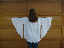 Elizabeth Abernathy: Refashion Tutorial: Fast and Easy Beach Dress from a Table Cloth or Large Scarf