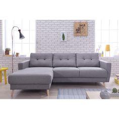 Divano grigio in tessuto 2/3 posti | Divani | Pinterest