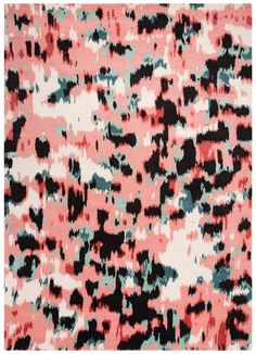 Murray Rug in Watercolor Leopard design by Kate Spade | BURKE DECOR