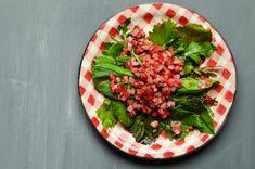 Gartensalat mit marinierten Radieschen