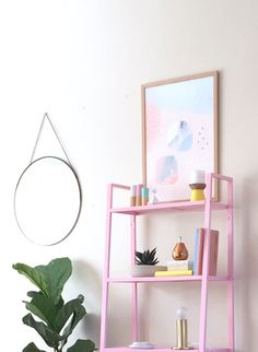 Pastel touches and budget mirrors from target