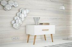 Noční stolek KINGSTON 1 bílá - Noční stolky k posteli | nabytek-bydleni.cz Kingston, Nightstand, Furniture, Design, Home Decor, Decoration Home, Room Decor, Night Stand