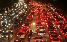 Next time you complain about being stuck in traffic, spare a thought for the drivers in Brazil's biggest city, which has some of the worst congestion problems in the world.
