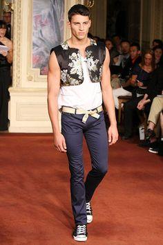 Alexis Mabille Spring 2010 Menswear
