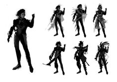 Character Creation, Character Concept, Concept Art, Character Sheet, Black Silhouette, Silhouette Design, Thumbnail Sketches, Cartoon Art Styles, Character Design References