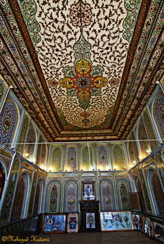 19th C. Persian pavilion,Shiraz