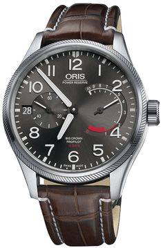 Oris BigCrown ProPilot Calibre 111 11177114163LS Mens 44mm Automatic Pilot's Watch - Buy Now Guaranteed 100% Authentic with FREE Shipping at AuthenticWatches.com
