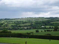 Ireland view from newgrange hd Wallpaper