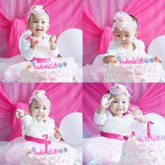 Naura's birthday 1 year old 🎂