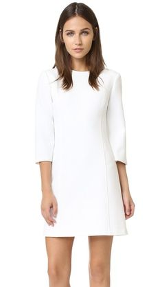alice + olivia Gem 3/4 Sleeve Shift Dress | SHOPBOP