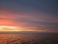 Sunset colors - Musura Bay near Sulina, Romania