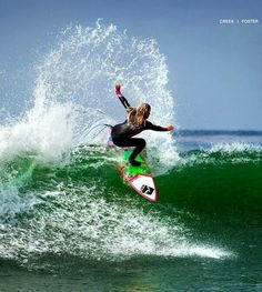 Awesome surfing. #ocean #water sports