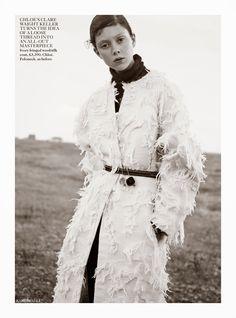Vogue UK October 2014   Natalie Westling by Karim Sadli [Editorial]