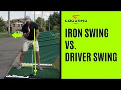 Driver Swing **Get additional free videos from me exclusively at **Sick of that steep downswing … source Golf Training Aids, Sand Wedge, Step Program, Golf Videos, Golf Channel, Online Lessons, Golf Irons, Online Coaching, Play Golf