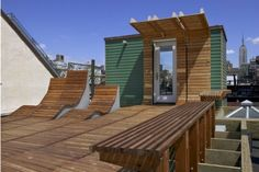 The coolest roof-deck ever...