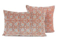 3 coloris disponibles - Harmony - Housse de coussin en velours Batik - 40x60 cm - Home Beddings and Curtains