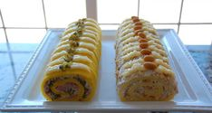 Domaći Kuhar - Deserti i Slana jela: Slani rolat Czech Recipes, Ethnic Recipes, My Favorite Food, Favorite Recipes, Sandwich Cake, Savoury Cake, Hot Dog Buns, Good Food, Brunch