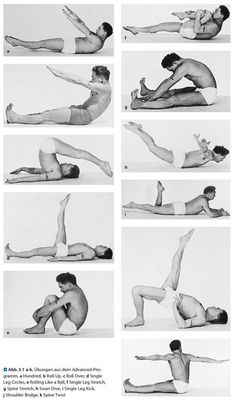 Joseph Pilates mat workout