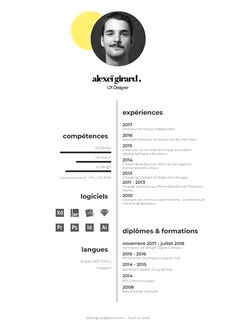 professional architecture portfolio templates creative resume must be designed in a CV format for architecture. The CV is a thorough document designed to present your academic and professional history. Graphic Design Resume, Resume Design Template, Resume Templates, Modern Cv Template, Templates Free, Portfolio Resume, Portfolio Design, Portfolio Ideas, Creative Portfolio