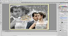 Efeito Convite de casamento Adobe Photoshop