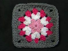 Not So Square Granny - Crochet Tutorial - YouTube