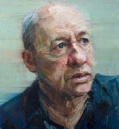 Colin Davidson, Mark Knopfler 2012, oil on linen, 127 x 117 cm