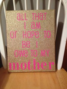 Best Birthday Gifts For Mom Diy Canvas 17 Ideas 60th Birthday Ideas For Mom, Birthday Presents For Mum, Mom Birthday Quotes, Cute Birthday Gift, Mother Birthday, 50th Birthday Gifts, Presents For Mom, Birthday Diy, Gifts For Mom