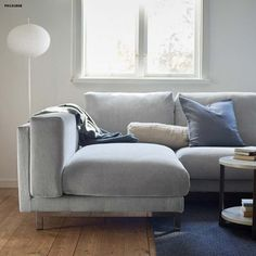 Pin for Later: Ikea Goes Back to Basics For Its Latest February Product Release  This simple sofa ($1,099) and sofa cover ($239) are very Ikea, but hey, they're classics.
