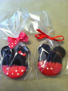 Mickey and Minnie Chocolate covered Oreo's