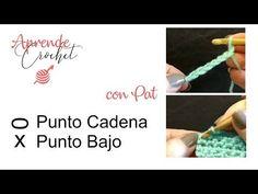 (210) Aprende Crochet Punto Cadena y Punto Bajo / Crochet desde el inicio / Clase # 1 - YouTube Crochet Necklace, Youtube, Ankara, Ms, Videos, How To Knit, Crochet Stitches, Tricot, Crochet Collar