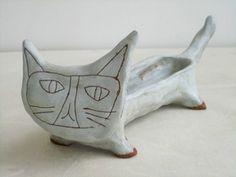 little grey cat - Paula Greif