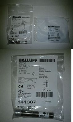 business commercial: Balluff Sensor Bos 12M-Ps-1Yb-S4-C Lot Of 2 -> BUY IT NOW ONLY: $99 on eBay!