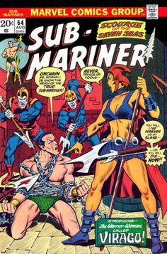 SUB-MARINER #64  MARVEL COMICS GROUP  AUGUST 1973  $.20