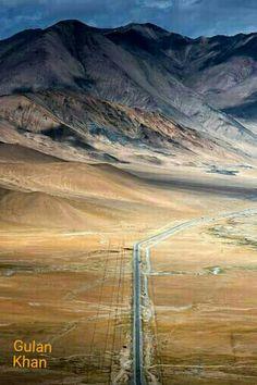 Fantastic aerial view of Karakoram highway Skardu valley Gilgit Baltistan Pakistan Karakoram Highway, Hunza Valley, Pakistan Travel, Gilgit Baltistan, Arabian Sea, Thing 1, Explore Travel, Bhutan, Aerial View