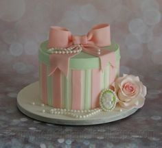 Tammy's Frosted Memories: Hat Box Cake Class