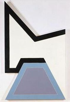 "Frank Stella ""Wolfeboro"", 1966 Frank Stella, San Francisco Museums, Art Classroom, Minimalist Art, Art Studios, Modern Contemporary, Cool Art, Sculptures, Typo"