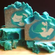 Take yourself to the beach with 8th and Ocean cold Process soap, with ground apricot seeds, olive oil, coconut oil, and Shea butter!