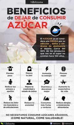 BENEFICIOS DE DEJAR DE CONSUMIR AZÚCAR