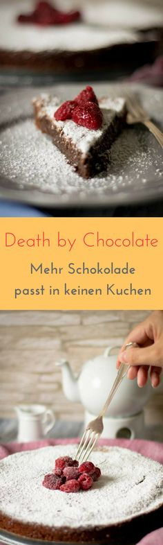 So lecker und unglaublich saftig - tolles Rezept für französische Schokoladentarte