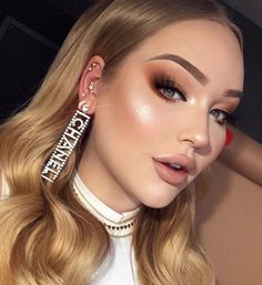 beautiful neutral makeup ideas for the prom party page 1 - Make Up 2019 Prom Makeup, Bridal Makeup, Wedding Makeup, Eye Makeup, Hair Makeup, Makeup Set, Makeup Trends, Makeup Inspo, Makeup Inspiration