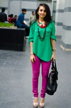 Awesome Done. Color Blocking.