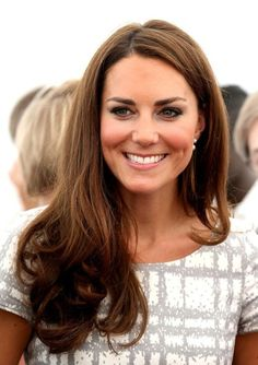 KATE MIDDLETON. love her hair