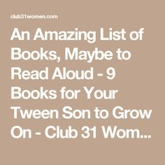An Amazing List of B