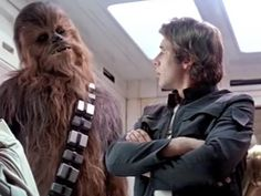 """Laugh it Up Fuzzball""-Han Solo"