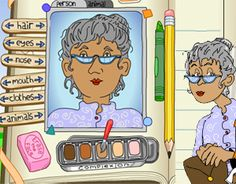 Students can use the Character Scrapbook activity to analyze characters and create and print a scrapbook. This teaching guide supports the Character Scrapbook activity fo Library Lessons, Reading Lessons, Reading Resources, Reading Activities, Reading Skills, Teaching Reading, Classroom Resources, Teacher Resources, Teaching Ideas